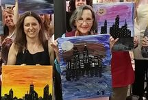 Paint & Wine Nights at the Studio