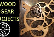 Wooden gear projects