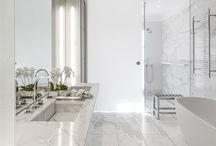 Penthouse Bathroom Marble