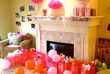 Decorate // Party Time / Event decorations and ideas. If you're throwing a party, this is your board!