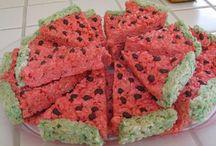 summer picnic desserts / by Emily Shreckengost Ferguson