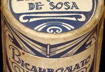 Publicidad vintage medicinas / anuncios antiguos de medicinas y envases de producto