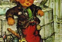 MICHEL THOMAS, ФРАНЦУЗСКИЙ ИЛЛЮСТРАТОР / Дети на улицах Парижа – прекрасные работы художника – иллюстратора Michel Thomas с далеко не детскими сюжетами.