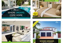 Real Estate Banner Ads Template / collection of web banner ads template for google advertising.