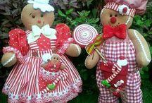 bonecos  de natal