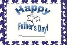 Father's Day / Father's Day resources for gifts for dad.
