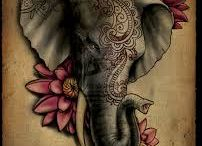 Tatuaggi elefante