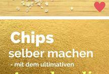 Chips im Ofen
