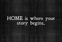 quotes about home / Quote inspiration about Home and your space