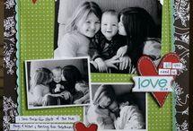 Children/Kids scrapbook pages