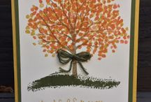Stampin Up Sheltering Tree / I just love this stamp set -- it can so easily be used for every season! I'm happy to answer any questions you may have about any of these projects. You can email me at amascio@comcast.net. Check out my blog at: www.stampwithanna.blogspot.com Shop with me at: http://www.stampinup.net/esuite/home/annamasciovecchio/