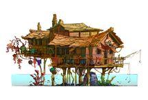 Rickety houses