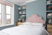 The Pink House bedroom
