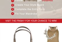 "The Frisky's Madison Bag Style Contest.""  / by Darla Davidson"