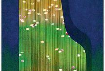 Springtime illustration