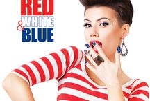 Salon Perfect - Paint the Town Red, White & Blue /   Celebrate your creative independence with Salon Perfect®. Whether you were Born in the U.S.A., or here to Party in the U.S.A., this Fourth of July everyone from sea to shining sea will Paint the Town Red White & Blue with Salon Perfect®. Available this June at select Walmart stores nationwide, this collection of nail lacquers, liners, pens, decals, tapes and tools allows you to express your patriotism in style.
