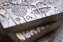 stamps and printmaking
