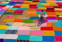 I N D I A / Colorful Country, full of life,