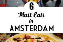 Amsterdam / Amsterdam sightseeing and food eats!