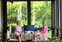 Relaxing Porches / by Mary Ann Johnson