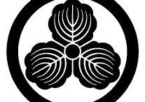 Family crest Ⅸ / kashiwa柏,kasumi霞,kasekiかせ木,katabami片喰,kani蟹,kabuto兜