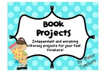Book Report and Project Ideas / Unique ideas for student reports and projects!