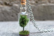 Glass Bottle Jewelry