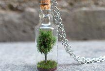 Glass Bottle Jewelry