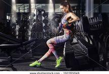 Fitness Portréty / Inspirace pro fotografování fitness.