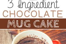 ♡Mug cakes recipes you need to try