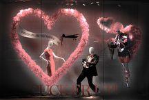 Valentine`s day display ideas