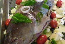 Fish dish/ Pesce
