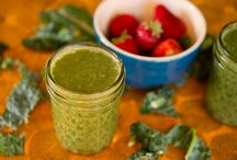 Smoothies & Juices / GMS created smoothies for you to enjoy! / by Garlic, My Soul