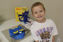 Pete the Cat party / by Sarah Sharp