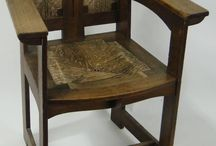 Arts and Crafts Furniture at Local Auctions
