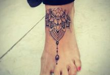 mandala pied