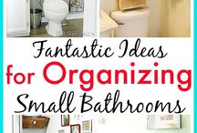 Organization Inspiration / A collection of tips and ideas for organizing your home. You too can conquer the clutter!
