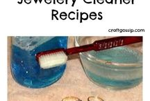 Jewelry cleaning recipes.