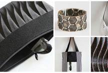 Handmade Accessories by Brilla Design / Visit the Brilla Design Shop: www.brilladesign.com