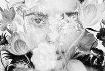 Botanica art / двойная экспозиция, трава, цветы, деревья, дерево, природа, человек, девушка, женщина, природа и человек, красота