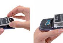 Hvordan bytte batteri på Samsung Galaxy S3
