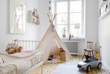 Children's room / Children's bedroom inspiration by Eklund Stockholm New York