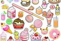 сладкие рисунки
