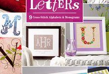 Cross Stitch Alphabets / by Nicola Maltby