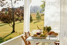 Country porches and barns / by Renee Woods