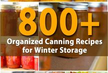 Home Canning / Home Canning Supplies And DIY Canning Recipes!
