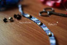 Tachuelízate! / Pídenos añadir a tus pulseras algunas tachuelas y marcarás la diferencia. Perfecta combinación!