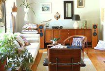 Ambientes externos - internos de casa.