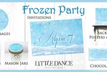Frozen Party Inspiration / Disney's Frozen is a current popular party trend.   This board has been put together to offer you inspiration for hosting your next fabulous frozen party!