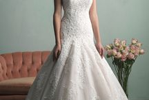 wedding gown